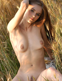 Model dasha in the field of love
